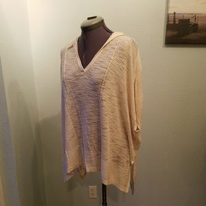 Knox Rose hooded poncho top